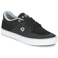 Zapatos Hombre Zapatillas bajas DC Shoes WES KREMER M SHOE XKSW Negro / Gris / Blanco