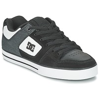 Zapatos Hombre Zapatos de skate DC Shoes PURE SE M SHOE BKW Negro / Blanco
