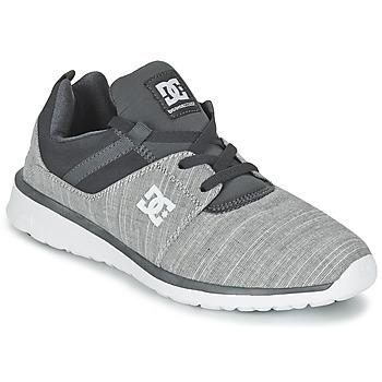Zapatos Hombre Zapatillas bajas DC Shoes HEATHROW SE M SHOE GRH Gris