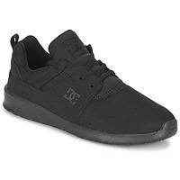 Zapatos Hombre Zapatillas bajas DC Shoes HEATHROW M SHOE 3BK Negro