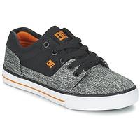 Zapatos Niño Zapatillas bajas DC Shoes TONIK TX SE B SHOE BGY Negro / Gris