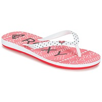 Zapatos Niña Chanclas Roxy RG PEBBLES V G SNDL BRE Rojo / Blanco / Negro