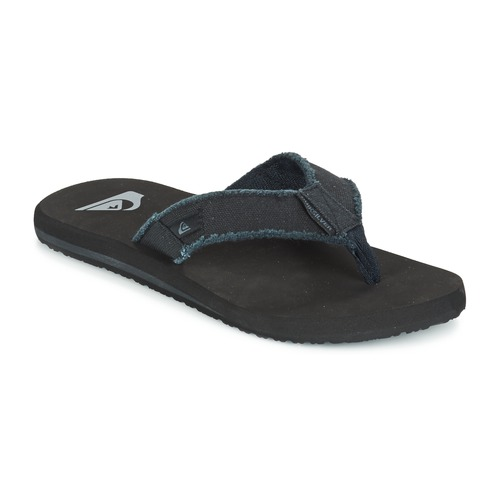 Zapatos Hombre Chanclas Quiksilver MONKEY ABYSS Negro