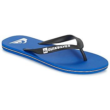 Zapatos Hombre Chanclas Quiksilver MOLOKAI Negro / Azul / Blanco