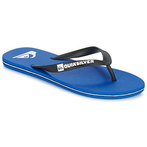 Chaussures Bleues Quiksilver Enfants Molokai 9Op8tb