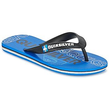 Zapatos Niños Chanclas Quiksilver MOLOKAI NITROYT Negro / Azul