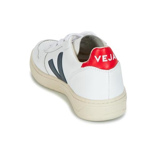 V Rojo Zapatos BlancoAzul Zapatillas Veja Bajas 10 vmPy8nwN0O