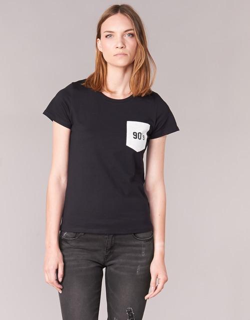 textil Mujer camisetas manga corta Yurban FIALA Negro