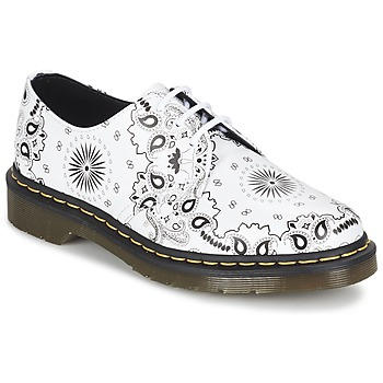 Zapatos Derbie Dr Martens 1461 Blanco / Negro
