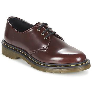 Zapatos Mujer Derbie Dr Martens VEGAN 1461 Rojo / Cereza