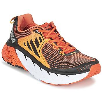 Zapatos Hombre Running / trail Hoka one one GAVIOTA Naranja / Negro