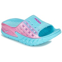 Zapatos Mujer Running / trail Hoka one one W BONDI SLIDE Azul / Rosa