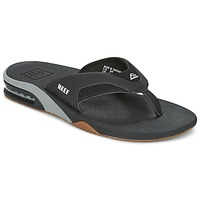 Zapatos Hombre Chanclas Reef FANNING Negro / Gris