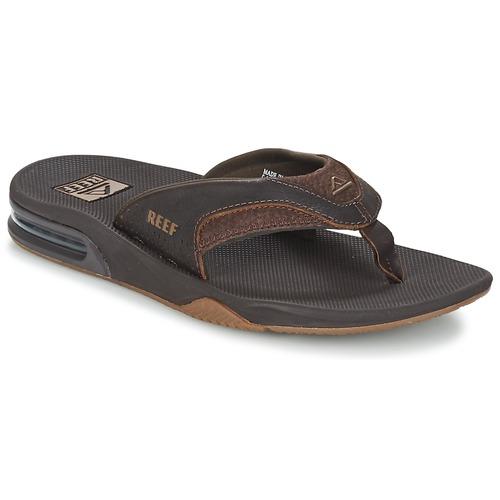 Zapatos especiales para hombres y mujeres Reef LEATHER FANNING Marrón