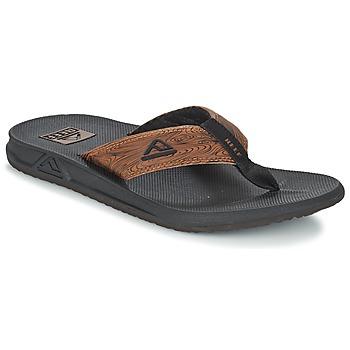 Zapatos Hombre Chanclas Reef PHANTOM PRINTS Negro / Marrón