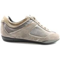 Zapatos Mujer Zapatillas bajas Tod's sneakers beige gamuza bronce az570 beige