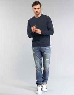 textil Hombre vaqueros slim Armani jeans NAKAJOL Azul