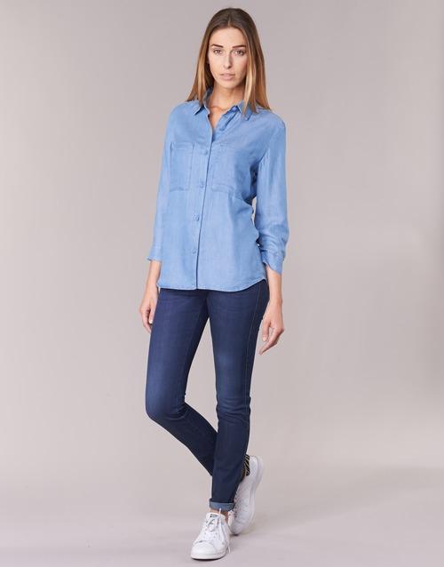 textil Mujer Vaqueros slim Armani jeans HERTION Azul