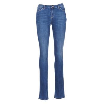 textil Mujer vaqueros rectos Armani jeans HOUKITI Azul