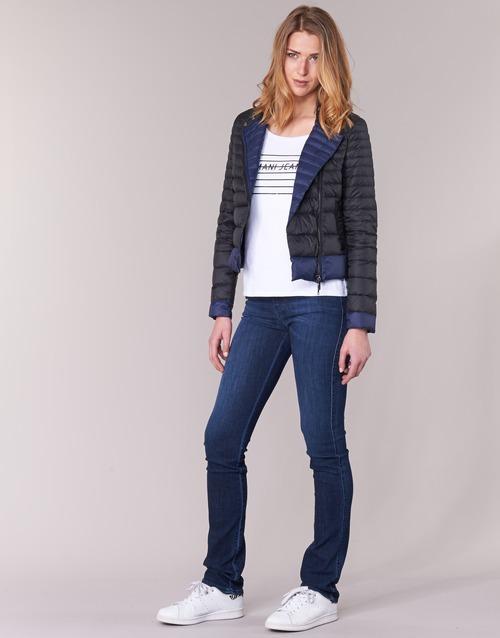 Beaujado Armani Jeans Textil Mujer Plumas NegroAzul iwOuTZlPXk