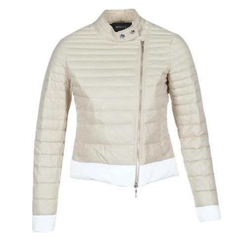 textil Mujer plumas Armani jeans BEAUJADO Beige / Blanco