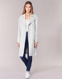 textil Mujer trench Armani jeans HAVANOMA Blanco