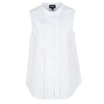 textil Mujer camisas Armani jeans GIKALO Blanco