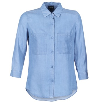 textil Mujer camisas Armani jeans OUSKILA Azul