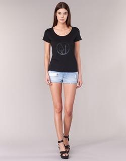 textil Mujer Shorts / Bermudas Armani jeans JUTELAPO Azul