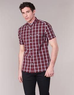 textil Hombre camisas manga corta DC Shoes ATURA 5 SS Rojo