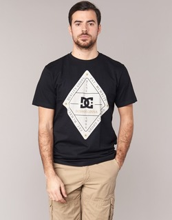 textil Hombre camisetas manga corta DC Shoes LONG DAY SS Negro