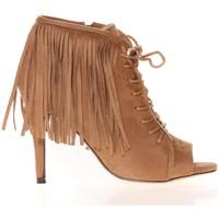 Zapatos Mujer Sandalias Cassis Côte d'Azur Cassis Côte d' azur Bottine Majorelle Camel Marrón