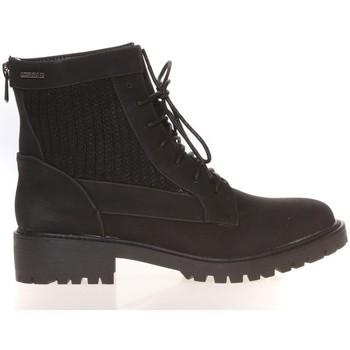 Zapatos Mujer Botas de caña baja Cassis Côte d'Azur Cassis Côte d' azur Bottine Amanda Noir Negro