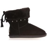 Zapatos Mujer Botas de caña baja Ilario Ferucci Boots Rebus Noir Negro