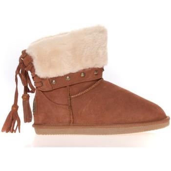 Zapatos Mujer Botas de caña baja Ilario Ferucci Boots Rebus Camel Marrón