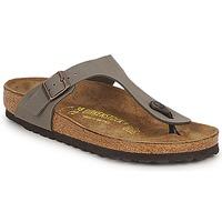 Zapatos Sandalias Birkenstock GIZEH Stone
