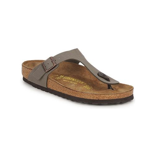 Descuento de la marca Zapatos especiales Birkenstock GIZEH Stone