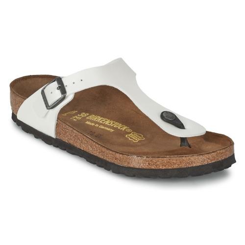 Zapatos promocionales Birkenstock GIZEH Blanco / Nacar  Casual salvaje