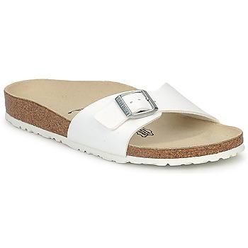 Zapatos Mujer Zuecos (Mules) Birkenstock MADRID Blanco / Mat