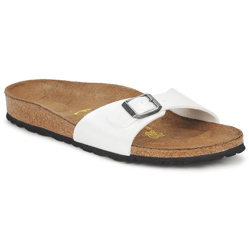 Zapatos Mujer Zuecos (Mules) Birkenstock MADRID Blanco / Nacar