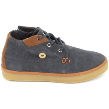 Zapatos Niños Zapatillas altas Faguo Wattle Suede BB Gris Gris