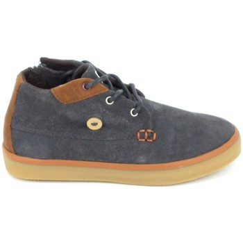 Zapatos Niños Zapatillas altas Faguo Wattle Suede C Gris Gris
