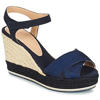 Zapatos Mujer Sandalias Castaner VERONICA Marino / Negro