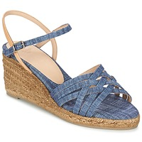 Zapatos Mujer Sandalias Castaner BETSY Azul / Beige
