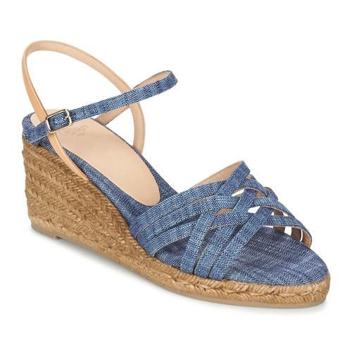 Zapatos casuales salvajes Zapatos especiales Castaner BETSY Azul / Beige