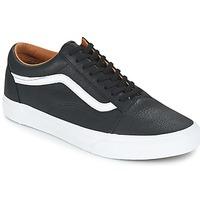 Zapatos Hombre Zapatillas bajas Vans OLD SKOOL Negro / Blanco