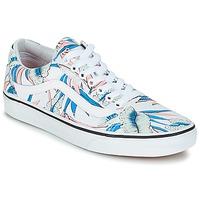 Zapatos Mujer Zapatillas bajas Vans OLD SKOOL Blanco / Azul
