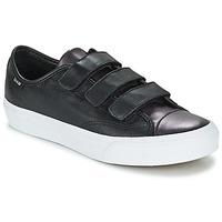 Zapatos Mujer Zapatillas bajas Vans PRISON ISSUE Negro / Metal / Blanco