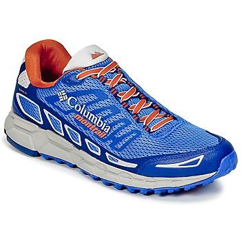 Zapatos Hombre Running / trail Columbia BAJADA™ III Azul / Naranja