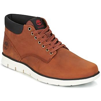 Zapatos Hombre Botas de caña baja Timberland Bradstreet Chukka Leather Marrón